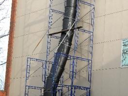 Debris Chute Installation | Portland OR | Vancouver WA